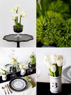 spring table wedding decor