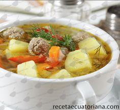 Sancocho ecuador recipe recetas ecuador - Albondigas con verduras ...