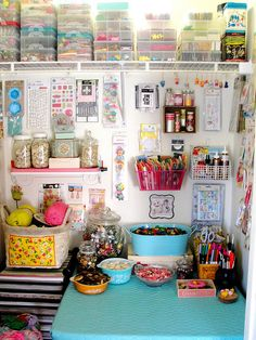 Re-organized Craft Space | Flickr - Photo Sharing!