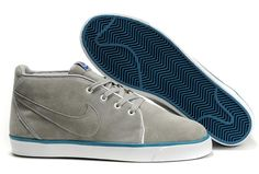 Ken Griffey Shoes Nike Toki ND Grey Blue [Nike Toki ND - If you try on the Nike Toki ND Grey Blue shoes, you will be surprised at the super comfort of these shoes. The durable grey suede upper features detailed stitching. White metal eyelets and blue N Blue Shoes, Men's Shoes, Ken Griffey, Blue Nike, Cheap Shoes, Keds, Blue Grey, Beige, Sneakers