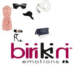 #birikini vi consiglia questo #elegante e #raffinato #look accompagnato dalla #preziosa #biribag #glamour e dalla #brillante #collana della linea #rainow nei toni dell'argento!