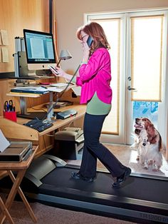 THE WALKING ALIVE  Don't stop moving.    Susan Orlean on her treadmill desk. When she couldn't run, she decided to walk.