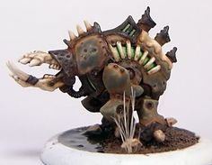 Pre-rusting Cryx Deathripper (from an excellent rusting tutorial)