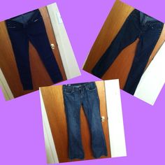I have a HUGE jeans selection‼️LIKE NEW‼️ Like new. Great condition. Price firm. Buffalo + Roxy + Yanük jeans size 28. Keywords: sexy blue denim skinny contemporary chic trendy designer bundle Roxy Jeans