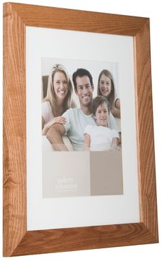 Gallery Solutions Natural Hardwood Picture Frame