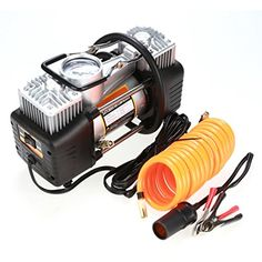 eshion 12V 150PSI Mini Portable Air Compressors Pump Tire Inflator With Pressure Gauge for Cars Balls Bikes Motorcycle