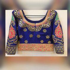 Blouse Design for Saree n Choli