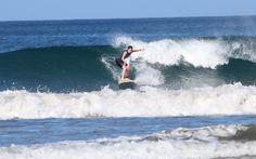 Learning to surf in Nosara, Costa Rica www.safarisurfschool.com