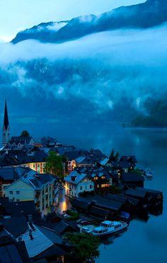Dusk.. Hallstatt, Austria