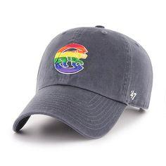 336ce3e44e5a5 Chicago Cubs Pride Adjustable  Crawling Bear  Cap by   ...