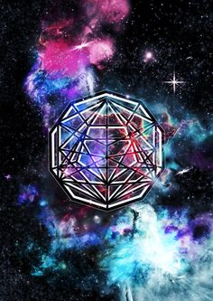 Plato's Universe sacred geometry digital art pieces based on the platonic solids