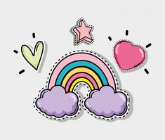 Cute and lovely cartoons Vector Emoji Drawings, Cute Kawaii Drawings, Printable Stickers, Cute Stickers, Wallpaper Iphone Cute, Cute Wallpapers, Pink Glitter Background, Tumblr Stickers, Aesthetic Stickers