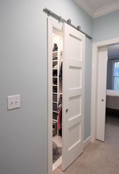 Best Decor Hacks : Modern Barn Doors: Solution for Awkward Spaces