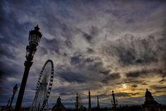 https://flic.kr/p/GZvQWd | Sunset_Concorde | Paris (2016)