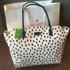 New Kate Spade Tote New with tags 100% authentic Kate Spade tote. Comes with shopping bag kate spade Bags Totes