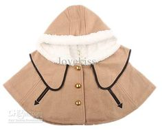 Wholesale Children Poncho Infant Clothing Winter The Poncho Toddler Clothes Hooded Poncho Girls Baby Clothes, Free shipping, $26.13-29.57/Piece | DHgate