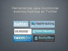 herramientas-para-monitorizar-eventos-en-twitter by Sol León via Slideshare