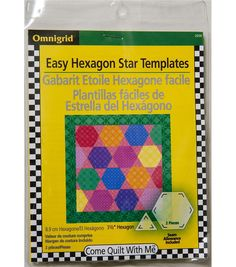 Omnigrid Easy Hexagon Star Template