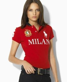 9944727f59ef8 Polo Ralph Lauren Women s Big Pony City Polo Milan