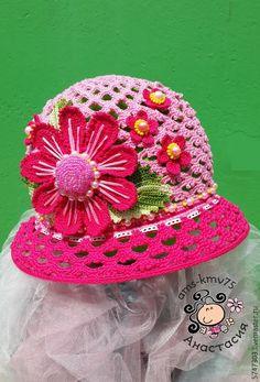"""Купить Панамка шляпка """"Звезда детсада"""" - панама, панамка для девочки, панамка, панамка крючком"""
