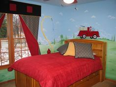 fire truck room on pinterest fireman nursery fire truck