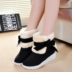 15.00$  Watch now - http://ali13i.shopchina.info/go.php?t=32756288848 - Women Boots 2016 Winter Boots Women shoes Snow winer shoes short fur Platform Ankle Boots For Women Botas Mujer 15.00$ #buymethat