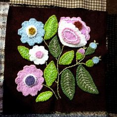 hi friends,five rows finished,only 21 blocks missing,i am off sewing,have a nice week,susi