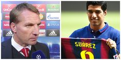 According to his documentary book, former Liverpool striker Luis Suarez happy during his stays with his former club and boss Brendan Rodgers.