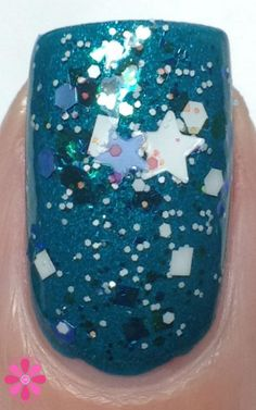 Blue-Eyed Girl Lacquer Siren Sweetheart over Cold Inside Me