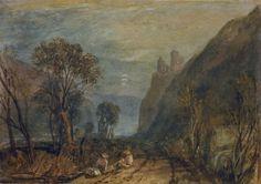 View on the Rhine - William Turner.