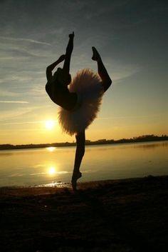 dance. sunset.