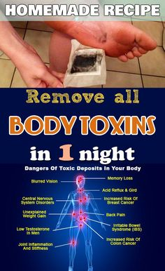 Remove All Body Toxins In 1 Night...!!! - Way to Steal Healthy