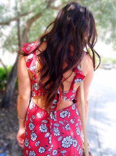 Wavy Long Brown Hair