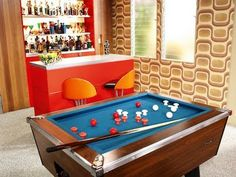 Just Finished Redoing A S Lee Valley Bumper Pool Table The - Old school pool table