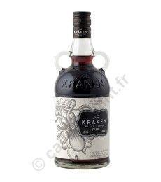 The Kraken Black Spiced Rhum