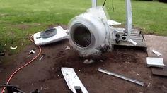This washing machine went crazy #washing machine #broken