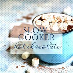 #slowcookerhotchocolate #easyhotchocolate #spikedh... Crock Pot Hot Chocolate Recipe, Hot Chocolate Recipes, Slow Cooker, Breakfast, Easy, Food, Morning Coffee, Essen, Meals