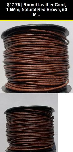 Dark Brown 4mm Flat Genuine Suede Lace Leather Cord 25 Yard Spool 4x1.5mm