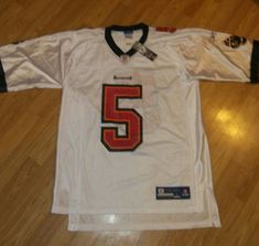 ede8caefe Reebok On Field Authentic NFL Jersey Tampa Bay Buccaneers Freeman White Lg  NWT  Reebok