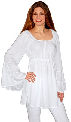 536e31eef6f A loose-fit roomy tunic with side slits