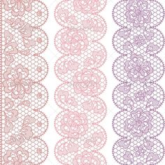 Lace Fabric Seamless Borders with Abstract Flowers.  #GraphicRiver         Zip file contains fully editable EPS8 RGB vector file and high resolution pixels RGB Jpeg image. EPS File does not contain transparency, blends, meshes, gradients. File does not contain foreign objects such as outside assets, brushes, symbols, fonts, images or other resources. Objects in the file are distributed by organized layers. Seamless image was provided in the swatches for easy implementation. In EPS CS version…