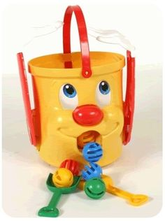 Mr. Bucket | The 13 Creepiest Toys You Played With As AKid