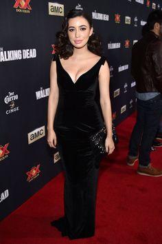 The Walking Dead Season 5 Premiere - Christian Serratos