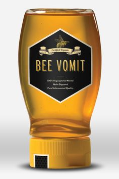 Bee Vomit - 100% Regurgitated Nectar - Multi Digested - Pure Unfermented Quality.