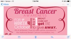 Plexus is giving you a chance for breast health