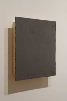 Andras Gal, (1968 - ), Untitled gray, 2008, 68 x 68 cm, oil on wood.
