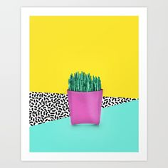 Collect your choice of gallery quality Giclée, or fine art prints custom trimmed by hand in a variety of sizes with a white border for framing. Buy Cactus, 90s Fashion, Fine Art Prints, Gallery, Frame, Style, Picture Frame, Swag, Frames