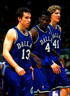 Steve Nash Michael Finley Dirk Nowitzki Dallas Mavericks