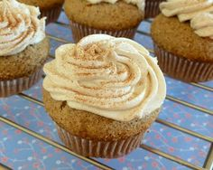 Kirsten's Kitchen: of vegan creations: Chai cupcakes. I'm obsessed with Chai anything, so this was one of my favorite meeting recipes, and it was from scratch!