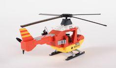 Sprawdza się wszędzie tam, gdzie nie może dojechać karetka. Nowoczesny medyczny helikopter #Cobi to idealny dodatek do zestawu!